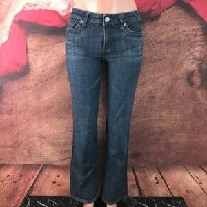 Kut From the Kloth Dark Boot Cut Jeans 6 28x30